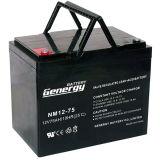 12V 80ah AGM verzegelde de Zure Batterij van het Lood