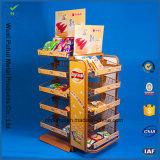 Inrichting van de Vertoning van de Snacks van de Vloer van de Draad van het metaal de Bevindende (PHY1030F)