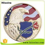 China-Geschenk-Fabrik Hiicoins kundenspezifische Bürgerkrieg-Münzen des Kapitän-Amerika