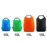 Nuovo sacchetto asciutto pieghevole impermeabile di nylon con 2 cinghie