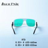 do diodo 635nm óculos de proteção de segurança do laser do diodo laser e 808nm para o equipamento da beleza do laser