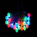 도매 옥외 당 또는 축제 또는 결혼식 사용을%s 크리스마스 LED 공에 의하여 점화되는 LED 빛
