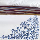 ホテルのための販売の快適な綿繻子の寝具セット