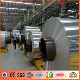 Bobina de aluminio prepintada metálica de plata de Ideabond (AE-32D)