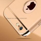 1에서 3개은 iPhone6/6s/6plus를 위한 충분히 덮은 반대로 가을 홀더 전화 상자를 전기도금을 하기 분해한다