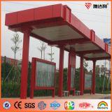 Bobine en aluminium Couleur-Enduite de polyester pour la façade de construction (AE-101)