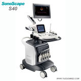 Equipamento médico do ultra-som de Doppler da cor de Sonoscape S40 3D 4D do hospital