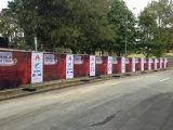 Освободите печатание знамени сетки загородки напольный рекламировать конструкции цветастое