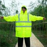De Nieuwste Regenjas van uitstekende kwaliteit van de Laag van de Regen van de Manier