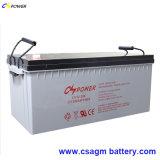 Batterie pour gel solaire haute température à haute température 12V200ah avec 20 ans de vie prolongée