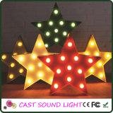 Iluminación de la Navidad de la muestra de la cartelera de la manera LED