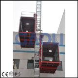 ラック・ピニオンの構築の建物装置か起重機または上昇