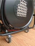 Skytoneの車輪が付いている純粋な銅32チャネルXLRの可聴周波ヘビケーブル