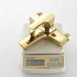 Золото Flg покрыло Faucet ванны с комплектом ливня руки