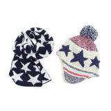 [بوم] [بوم] [بني] قبعة جاكار حبك أطفال قبعة