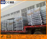 Conteneur compressible de maille de fil d'acier pour la crémaillère industrielle d'entrepôt