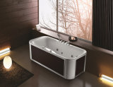 Quality Rectangle Massage Bathtub with Rounded Corners