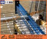 Decking rivestito resistente della maglia del filo di acciaio del PVC per racking di memoria del pallet