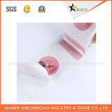 Escrituras de la etiqueta autas-adhesivo coloridas de encargo para los envases de alimento