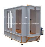 Cabine automática do pó para o cilindro de gás da pintura