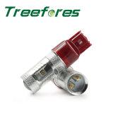 Lampadina automatica della lampada T20 7443 30W 50W 60W 80W LED dell'automobile di alto potere