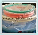 El doble plástico blanco de la protuberancia rema el tubo para la cubierta quirúrgica del borde de la herida