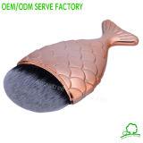 Produits chauds de vente de PC simple de forme de poissons de produits de beauté de balai de renivellement