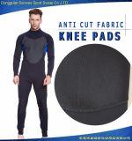 膝パッドが付いている3mmの冷た証拠のダイビングのサーフのウェットスーツ