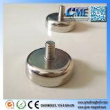 Удерживающий электромагнит бака NdFeB внешних магнитов бака неодимия резьбы магнитный