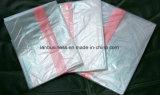 洗濯は溶ける赤く、明確な伝染制御を袋に入れる