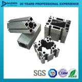 Perfil industrial de alumínio personalizado Tamanho / cor