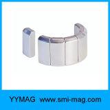 Generatore a magnete permanente personalizzato di segmento del magnete del neodimio dell'arco