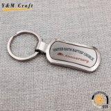Anello chiave promozionale su ordinazione del veicolo per il trasporto del metallo con il marchio di marca