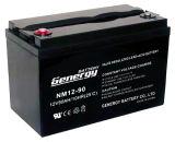 12V 90ah de Diepe Batterij van de Cyclus voor 3kw van de ZonneMacht van het Net