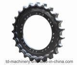 As peças sobresselentes da recolocação forjaram a roda dentada pesada material personalizada do equipamento da roda dentada da movimentação da máquina escavadora