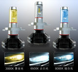 faro automatico di Philips LED della lampadina di 3000lm H4