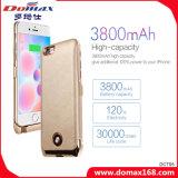 3800 mAh batería de litio Banco de la energía para el iPhone 6 con RoHS