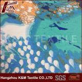 Georgette ordinaire a personnalisé le tissu estampé de Georgette de polyester
