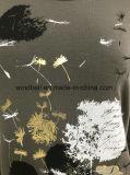 Maglietta lunga del manicotto del reticolo del dente di leone per Wowen con stampa