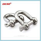 電流を通された鋼鉄頑丈なDのタイプ手錠