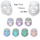 Máscara ligera del Facial de los colores LED de la mascarilla de la terapia del LED 7