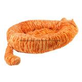 Изготовленный на заказ плюш кровати любимчика и заполненная кровать собаки