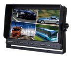Монитор LCD автомобиля Sunvisor TFT HD с полиэкраном квада
