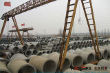 Máquina de fabricação de tubos de cimento de concreto de tipo horizontal com equipamento de solda