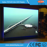 HD P6 광고를 위한 실내 풀 컬러 LED 스크린 위원회