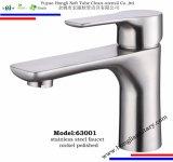 63009 ha lucidato il rubinetto della cucina dell'acciaio inossidabile 304 con il becco funzionale