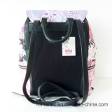 Zaino stampato nylon delle donne di modo del fornitore della Cina (NMDK-050303)
