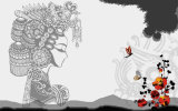 Het hoogste Schilderen van de Muurschildering van de Stijl van de Kunst van het Ontwerp van de Kwaliteit Recentste 3D