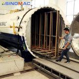 Автоклав промышленной полной автоматизации стеклянный для производственной установки прокатанного стекла
