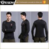 Chemises chaudes longtemps gainées légères militaires de sous-vêtements thermiques de formation